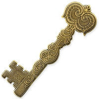 Antique Brass - Bar - 18x61mm Key