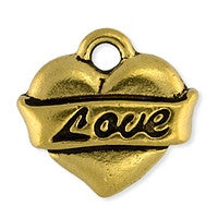 2302 Drop Love Heart 2 pcs/per pack