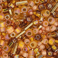 Japanese Seed Beads Mix - 22 Pumpkin Spice