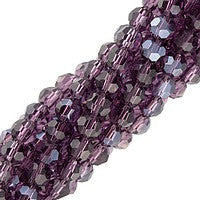 Chinesse Crystal - 4mm Round - Tanzanite Luster 100pcs