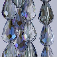 Chinesse Crystal - 12x8 Drop - C01TB - 72pcs