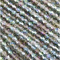 Chinesse Crystal - 4mm Bicones - Crystal Veridian 100pcs