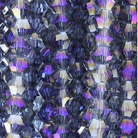 Chinese Crystal - 3mm Bicones - C01TP
