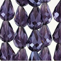 Chinesse Crystal - 12x8 Drop - C08 - 72pcs