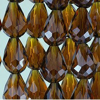 Chinesse Crystal - 12x8 Drop - C15L - 72pcs
