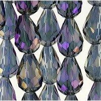 Chinesse Crystal - 12x8 Drop - C01TP - 72pcs