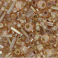 Japanese Seed Beads Mix - 09 Peach