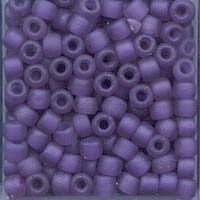 Japanese Seed Beads Size 8 - F399J Transparent Matte - Purple