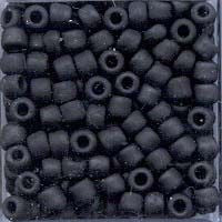 Japanese Seed Beads Size 8-F401 Opaque Matte-Black