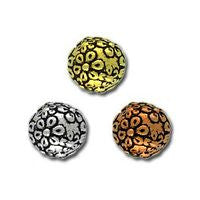 5601 - Floral Round Bead 2 pcs/per pack