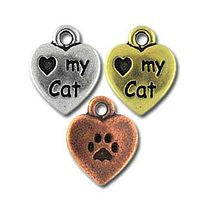 2199 I Love My Cat 2 pcs/per pack