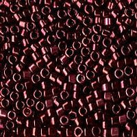 Delica 11/0 0012 Metallic Dark Raspberry - 5 grams
