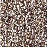 Delica 11/0 0035 Metallic Galvanized Silver-5  Grams