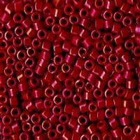 Delica 11/0 0214 Opaque Luster Dark Red