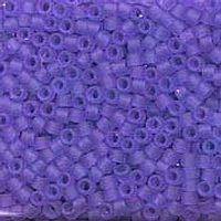 Delica 11/0 0783 Transparent Semi. Matte Bright Purple