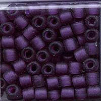 Japanese Seed Beads Size 6 - F399J Transparent Matte - Purple
