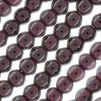 Czech Glass -  6m Round - Garnet