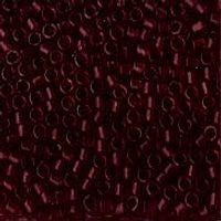 Delica 11/0 1312 Transparent Burgundy Wine Dyed