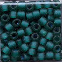 Japanese Seed Beads Size 6 - F399O Transparent Matte - Teal