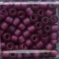 Japanese Seed Beads Size 6 - F399E Transparent Matte - Plum