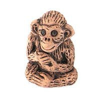 Ceramic Animals - Brown Monkey