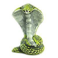 Ceramic Animals - Green Cobra