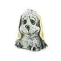 Ceramic Animals - White Doggy