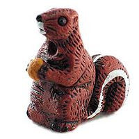 Ceramic Animals - Red Squirrel