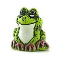 Ceramic Animals - Green Froggy