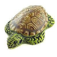 Ceramic Animals - Green Turtle