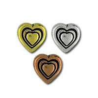 5545 - Heart 2 pcs/per pack