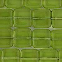 9mm Flat Square - Olivine- 25 pcs