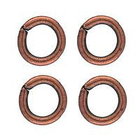 Copper - 5m Butted Jumprings - 30pcs