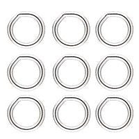 Sterling - 6m Closed Ring - 10pcs