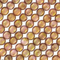 Czech Glass 4m Round - Luster Opaque Rose Gold