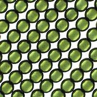 Czech Glass 4m Round - Metallic Dark Olivine