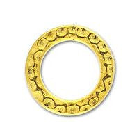 3086 Medium Hammered Ring 2 pcs/per pack