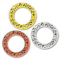 3085 Small Hammered Ring 2 pcs/per pack