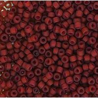 Japanese Seed Beads Size 11-7372A  Transparent - Garnet