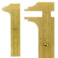 Beading Supplies - Brass Gauge
