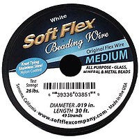 Soft Flex White .019 - 30 Feet