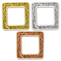 3099 Small Hammered Square 2 pcs/per pack