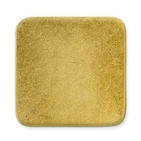 Antique Brass - Blank - 21mm Square