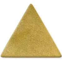 Antique Brass - Blank - 37mm Triangle