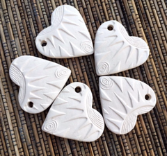 Ceramic Unglazed - Radiant Heart 37x37m - 5 Pcs