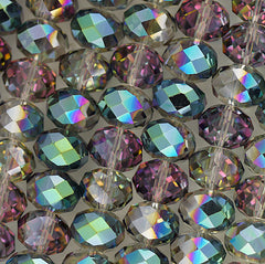 Chinese Crystal - 14x18m Rondels - Vitrial - 12 pcs