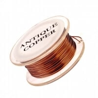 Non Tarnish Wire - Ant. Copper