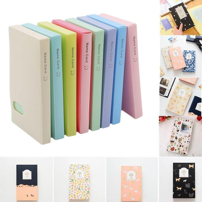 120 Pockets Solid Color DIY Stickers For Photo Albums Frame Decoration Scrapbooking Photo Album Photo Card ID Holder - iregalijoy.com