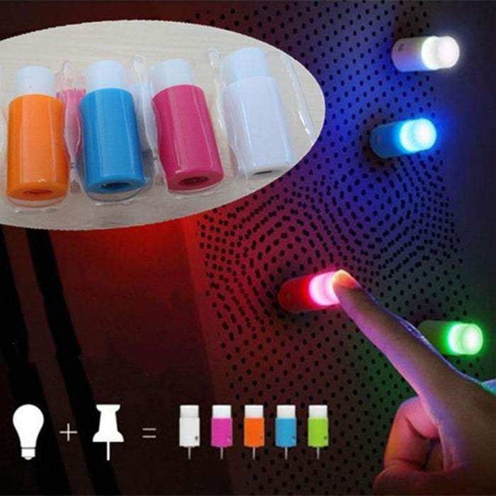 1set Novelty LED night light sucker bar wedding christmas decoration wall lamp and fairy push pin light - iregalijoy.com