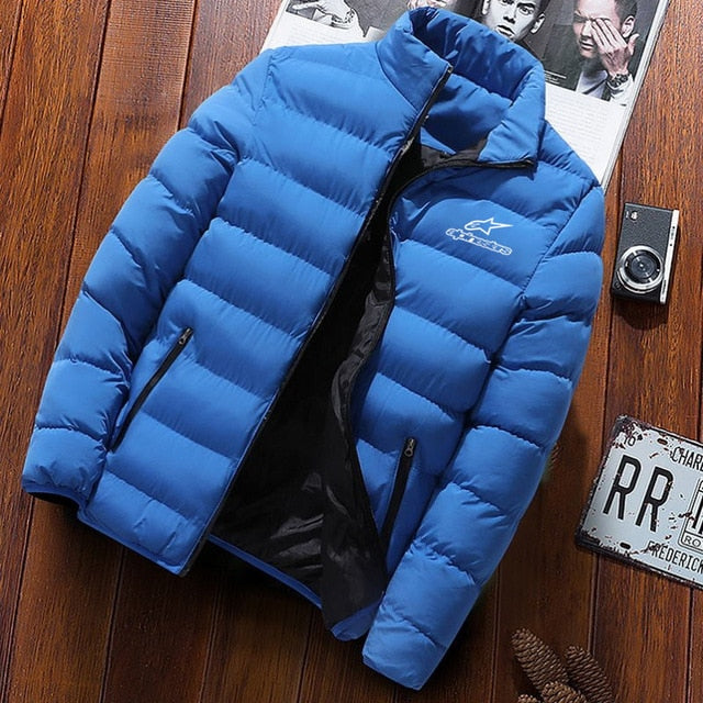 Winter Jacket Men  Fashion Stand Collar Male Parka Jacket Mens Solid Thick Jackets and Coats Man Winter Parkas - iregalijoy.com